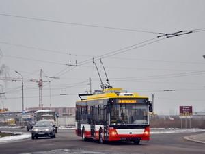 Новые одесские троллейбусы испытывают на улицах Луцка (ФОТО)