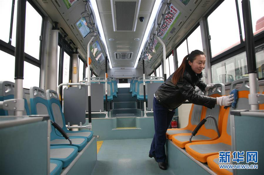Город Линьфэнь получил 200 электробусов