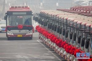 Один из самых грязных городов планеты массово закупает электробусы (ФОТО)