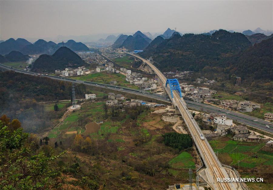 В Китае откроется самая длинная высокоскоростная железная дорога