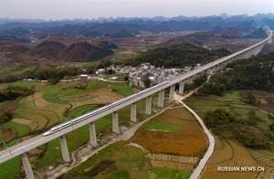 В Китае откроется самая длинная высокоскоростная железная дорога (ФОТО)