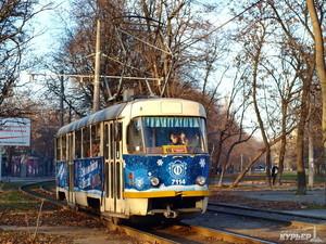 В Новогоднюю ночь одесский общественный транспорт будет работать круглосуточно