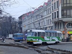 В Одессе на Тираспольскую площадь вернулись два трамвайных маршрута (ФОТО)