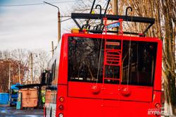 """Новых троллейбусов """"Богдан"""" в Одессе уже семь: прибывает вторая партия в этом году (ФОТО)"""