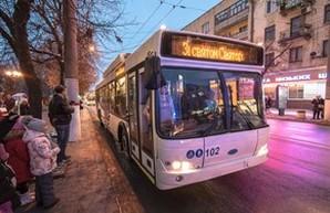 В Кропивницком вышли на маршруты новые троллейбусы (ФОТО)