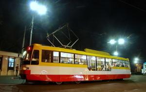 Завтра в Одессе состоится парад новогодних трамваев