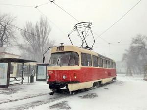 Одесский электротранспорт работает в сокращенном режиме