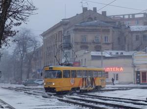 Одесские трамваи и троллейбусы работают на всех маршрутах (ФОТО)
