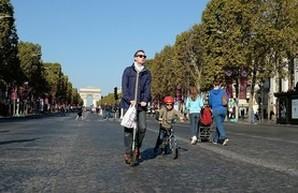 В Париже планируют существенно ограничить движение транспорта в центре города