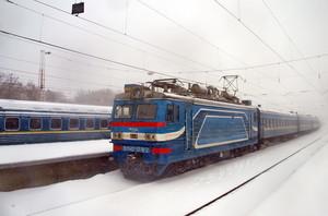 Непогода внесла свои коррективы в график движения поездов