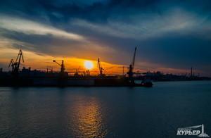 Одесский порт уменьшил перевалку грузов