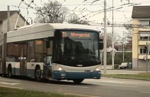 В Швейцарии разрабатывают уникальный троллейбус на батареях