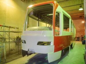 Запорожье покупает четыре корпуса для сборки частично низкопольных трамваев