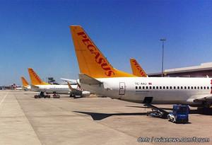 Турецкий лоукост Pegasus Airlines откроет рейсы из Стамбула в Одессу