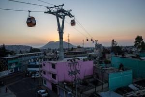 В Мексике запустили канатную дорогу с семью станциями