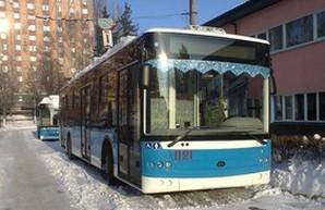 В Хмельницкий прибыли новые троллейбусы (ФОТО)