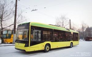 Во Львове открыта новая линия троллейбуса к аэропорту (ФОТО, ВИДЕО)