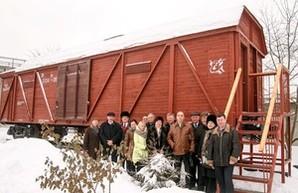 В Харькове открыли вагон-музей
