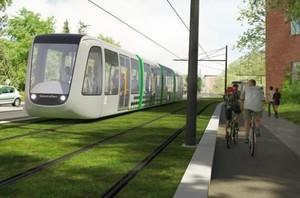В шведском городе Лунд запланировано строительство современной линии скоростного трамвая
