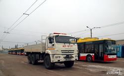 Еще пять новых троллейбусов выходят на маршруты Одессы (ФОТО)