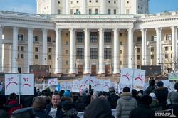 Москвичи вышли на митинг в защиту троллейбуса от Собянина и назвали Путина врагом русского народа (ФОТО)