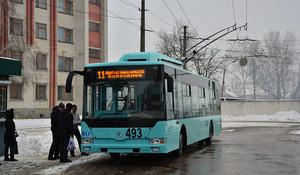 Первым в Украине в нынешнем году закупает троллейбусы Чернигов
