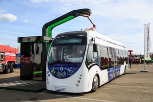 В Минске представили конденсаторный электробус Vitovt Electro (ФОТО)