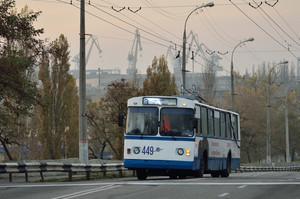 В Херсоне вдвое дорожает проезд в троллейбусах