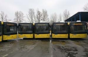В Киев поставят всего 50 новых автобусов вместо 100 (ФОТО)