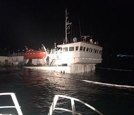 В Турции затонуло судно, которое должны были продать за долги перед украинскими моряками
