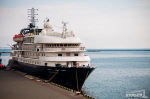 В 2017 году в Одессе и в Черном море побывает всего один небольшой круизный лайнер