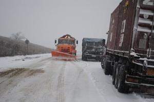На трассе Одесса-Киев ограничено движение транспорта