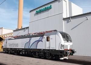 Siemens поставит 200 электровозов Vectron для австрийских железных дорог