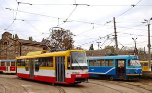 В текущем году в Одессе будут закуплены 11 новых трамваев и первый электробус