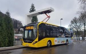 Два города Бельгии получат 90 гибридных автобусов