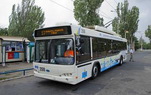 В тендере Донецкой ОГА на поставку троллейбусов в Мариуполь побеждает посредник с белорусской продукцией