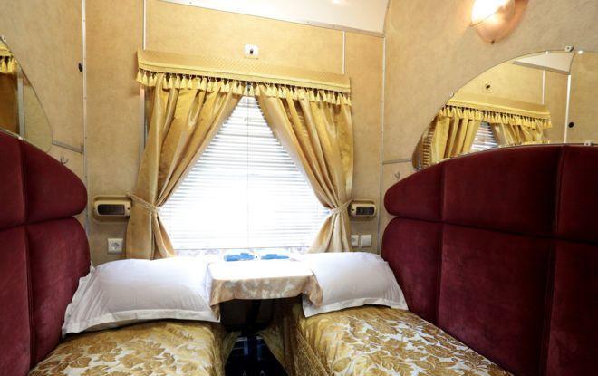 Путешествие в таком вагоне стоит как 11 билетов в спальном вагоне