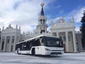 Для харьковского аэропорта поставят современные низкопольные перронные автобусы