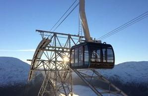 """""""Лифт в небо"""" поднимет пассажиров на километровую высоту горной вершины Норвегии (ФОТО)"""