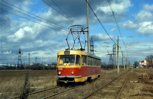 Одесский трамвай: маршрут №1