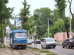 Одесский трамвай: маршрут №4