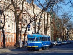 Одесский трамвай: маршрут №12