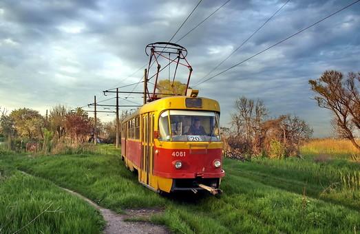 Одесский трамвай: маршрут №20