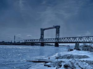 В текущем году Одесская железная дорога закончит асфальтирование проезжей части моста в Затоке