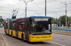 В Киеве изменены маршруты электротранспорта из-за обрушения моста