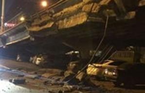 Мэр Киева рассказал о причинах обрушения Шулявского моста