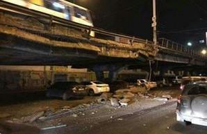 Шулявский мост обрушился. На очереди - Московский и Дарницкий
