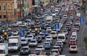 Киев догнал Нью-Йорк по количеству автомобилей
