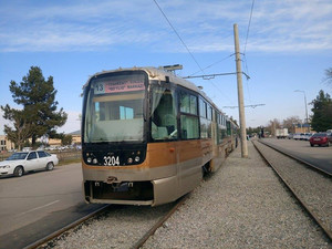 В старейшем городе Узбекистана завершено строительство линии трамвая (ФОТО)