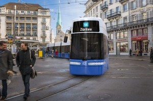 В швейцарский Цюрих поставят 70 трамваев